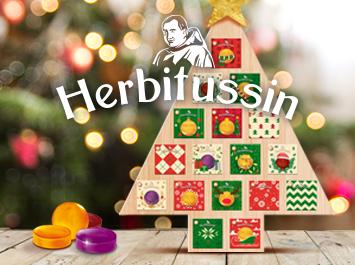 Естественият дух на Коледа с Herbitussin пастили